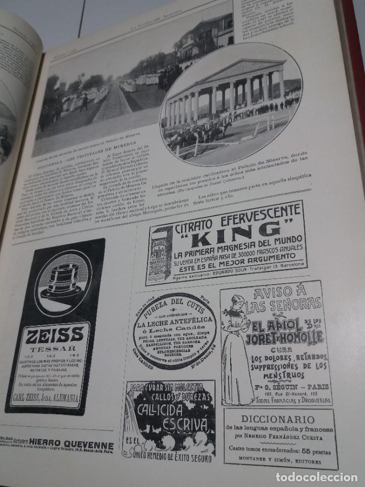 Libros antiguos: FABULOSO Y EXCEPCIONAL LIBRO ILUSTRACION ARTISTICA 110 AÑOS MONUMENTAL 40 cm - Foto 33 - 240999385