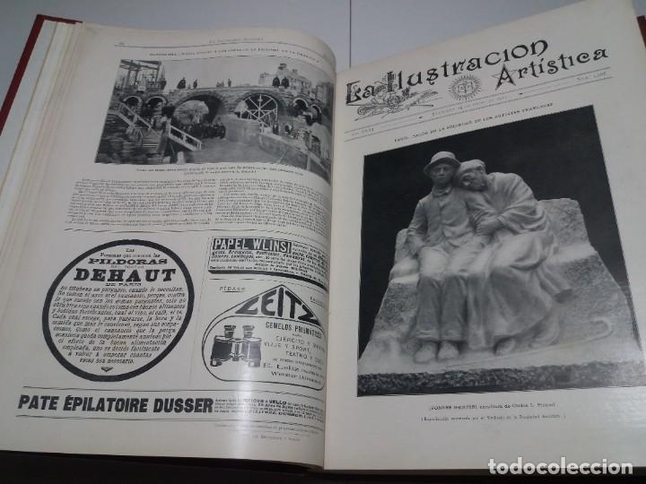 Libros antiguos: FABULOSO Y EXCEPCIONAL LIBRO ILUSTRACION ARTISTICA 110 AÑOS MONUMENTAL 40 cm - Foto 34 - 240999385