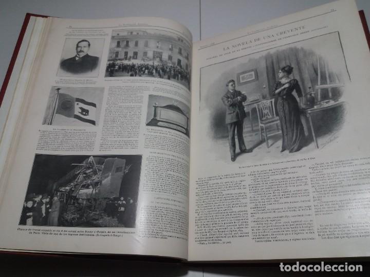 Libros antiguos: FABULOSO Y EXCEPCIONAL LIBRO ILUSTRACION ARTISTICA 110 AÑOS MONUMENTAL 40 cm - Foto 38 - 240999385
