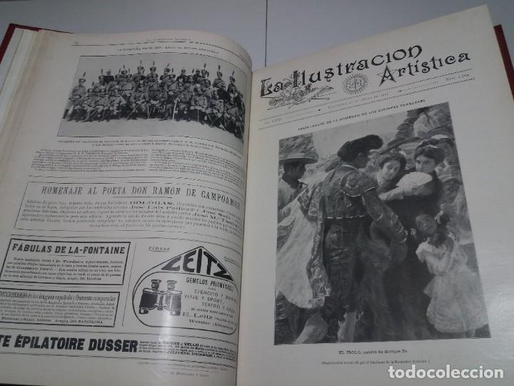 Libros antiguos: FABULOSO Y EXCEPCIONAL LIBRO ILUSTRACION ARTISTICA 110 AÑOS MONUMENTAL 40 cm - Foto 39 - 240999385