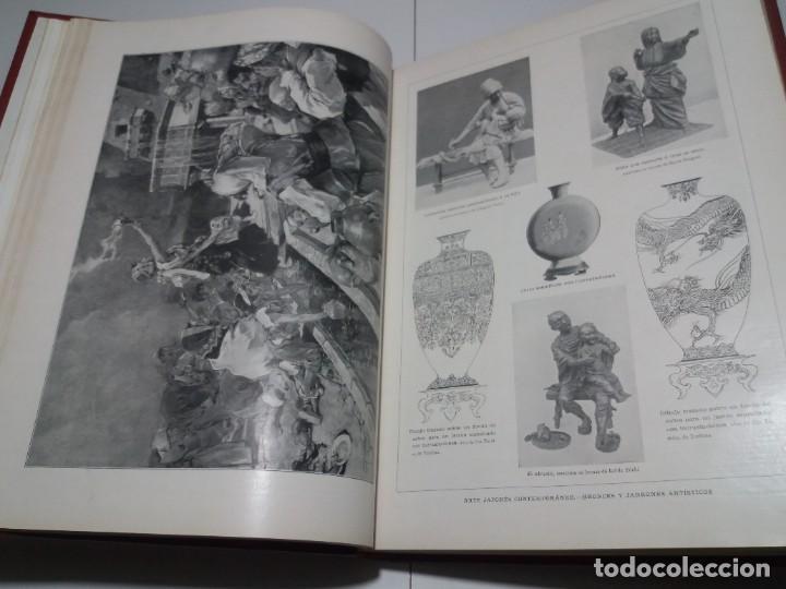 Libros antiguos: FABULOSO Y EXCEPCIONAL LIBRO ILUSTRACION ARTISTICA 110 AÑOS MONUMENTAL 40 cm - Foto 43 - 240999385