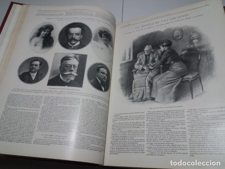 Libros antiguos: FABULOSO Y EXCEPCIONAL LIBRO ILUSTRACION ARTISTICA 110 AÑOS MONUMENTAL 40 cm - Foto 44 - 240999385