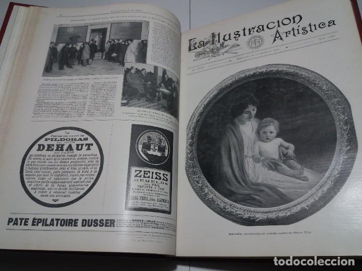 Libros antiguos: FABULOSO Y EXCEPCIONAL LIBRO ILUSTRACION ARTISTICA 110 AÑOS MONUMENTAL 40 cm - Foto 46 - 240999385