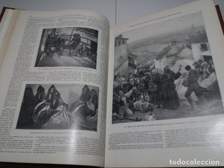 Libros antiguos: FABULOSO Y EXCEPCIONAL LIBRO ILUSTRACION ARTISTICA 110 AÑOS MONUMENTAL 40 cm - Foto 47 - 240999385