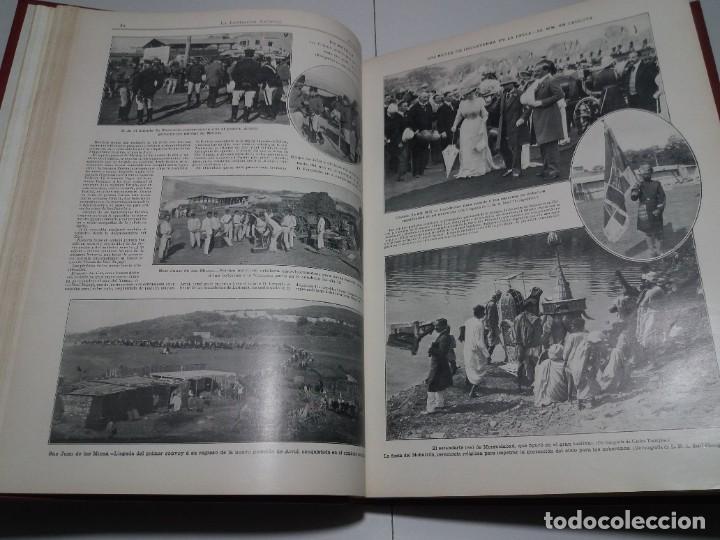 Libros antiguos: FABULOSO Y EXCEPCIONAL LIBRO ILUSTRACION ARTISTICA 110 AÑOS MONUMENTAL 40 cm - Foto 48 - 240999385
