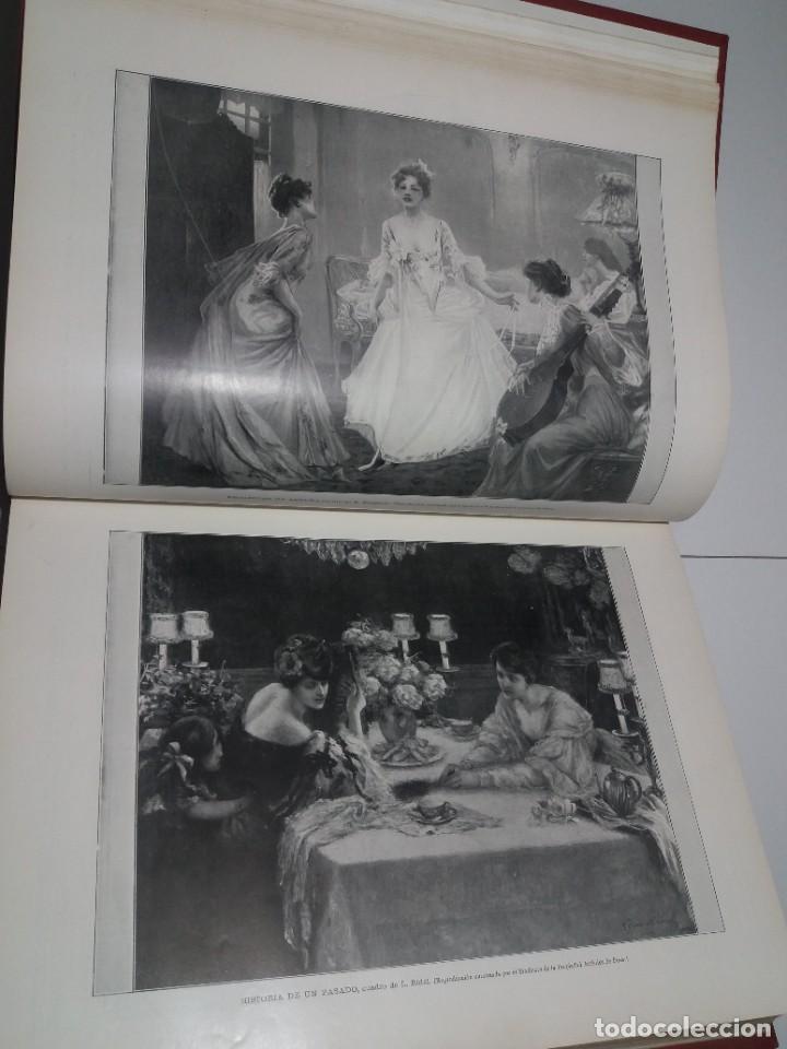 Libros antiguos: FABULOSO Y EXCEPCIONAL LIBRO ILUSTRACION ARTISTICA 110 AÑOS MONUMENTAL 40 cm - Foto 49 - 240999385