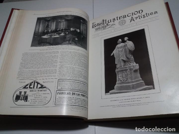 Libros antiguos: FABULOSO Y EXCEPCIONAL LIBRO ILUSTRACION ARTISTICA 110 AÑOS MONUMENTAL 40 cm - Foto 51 - 240999385
