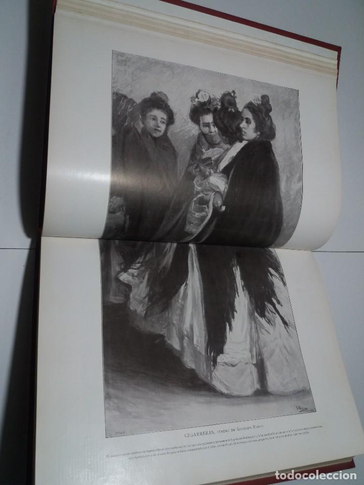 Libros antiguos: FABULOSO Y EXCEPCIONAL LIBRO ILUSTRACION ARTISTICA 110 AÑOS MONUMENTAL 40 cm - Foto 54 - 240999385