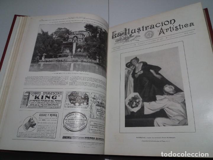 Libros antiguos: FABULOSO Y EXCEPCIONAL LIBRO ILUSTRACION ARTISTICA 110 AÑOS MONUMENTAL 40 cm - Foto 57 - 240999385