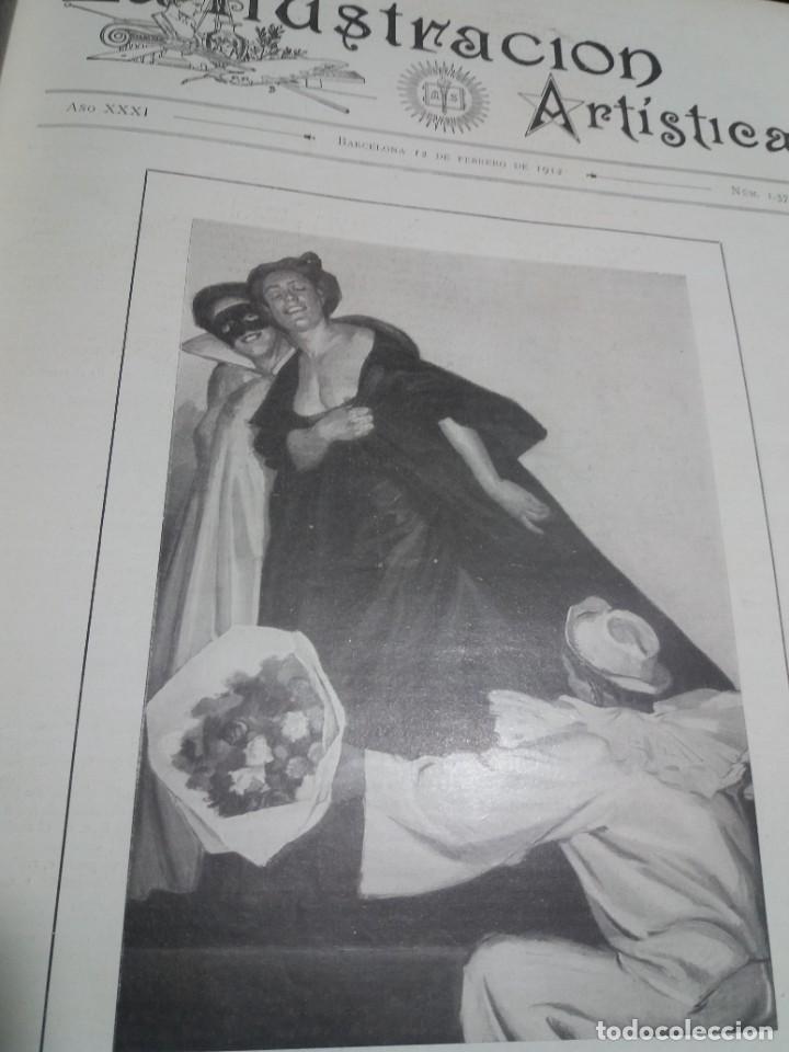 Libros antiguos: FABULOSO Y EXCEPCIONAL LIBRO ILUSTRACION ARTISTICA 110 AÑOS MONUMENTAL 40 cm - Foto 58 - 240999385