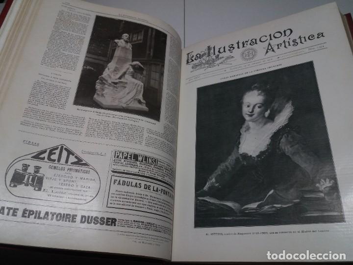 Libros antiguos: FABULOSO Y EXCEPCIONAL LIBRO ILUSTRACION ARTISTICA 110 AÑOS MONUMENTAL 40 cm - Foto 63 - 240999385