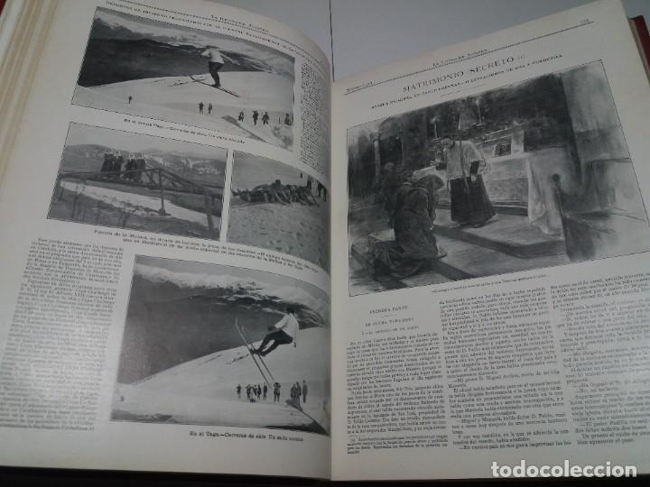 Libros antiguos: FABULOSO Y EXCEPCIONAL LIBRO ILUSTRACION ARTISTICA 110 AÑOS MONUMENTAL 40 cm - Foto 67 - 240999385