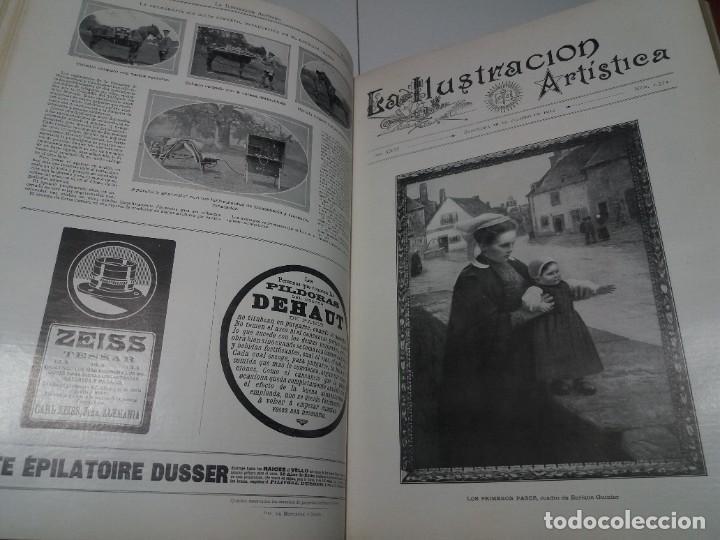 Libros antiguos: FABULOSO Y EXCEPCIONAL LIBRO ILUSTRACION ARTISTICA 110 AÑOS MONUMENTAL 40 cm - Foto 69 - 240999385