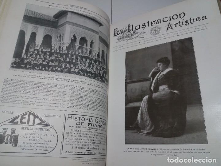 Libros antiguos: FABULOSO Y EXCEPCIONAL LIBRO ILUSTRACION ARTISTICA 110 AÑOS MONUMENTAL 40 cm - Foto 73 - 240999385