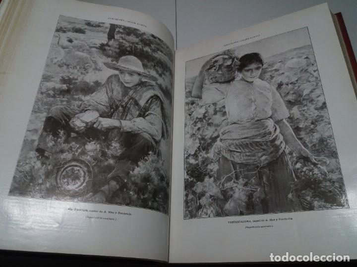 Libros antiguos: FABULOSO Y EXCEPCIONAL LIBRO ILUSTRACION ARTISTICA 110 AÑOS MONUMENTAL 40 cm - Foto 76 - 240999385