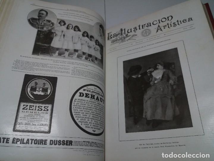 Libros antiguos: FABULOSO Y EXCEPCIONAL LIBRO ILUSTRACION ARTISTICA 110 AÑOS MONUMENTAL 40 cm - Foto 78 - 240999385