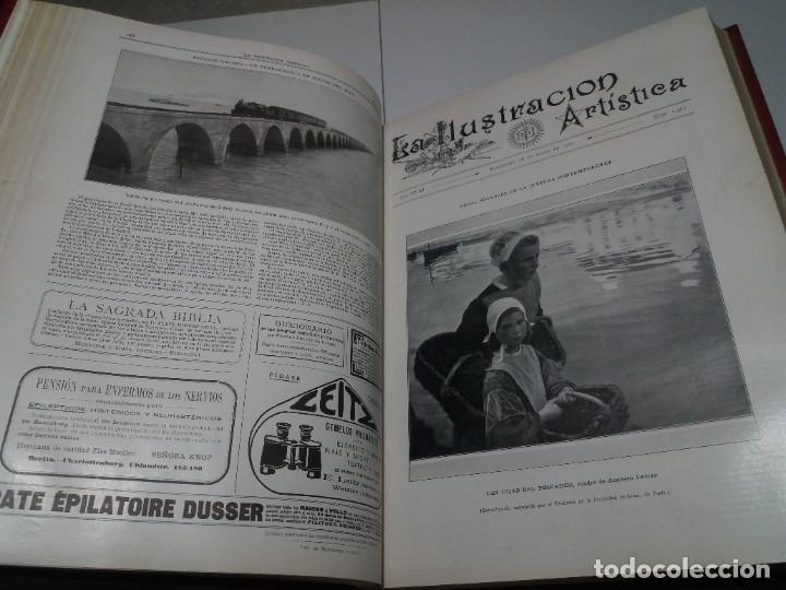 Libros antiguos: FABULOSO Y EXCEPCIONAL LIBRO ILUSTRACION ARTISTICA 110 AÑOS MONUMENTAL 40 cm - Foto 83 - 240999385