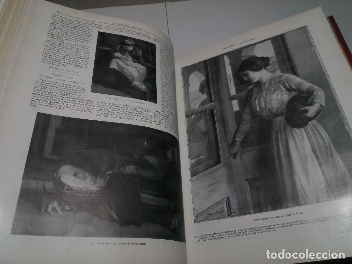 Libros antiguos: FABULOSO Y EXCEPCIONAL LIBRO ILUSTRACION ARTISTICA 110 AÑOS MONUMENTAL 40 cm - Foto 84 - 240999385