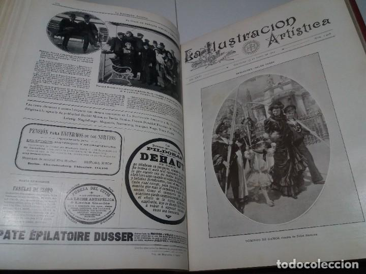 Libros antiguos: FABULOSO Y EXCEPCIONAL LIBRO ILUSTRACION ARTISTICA 110 AÑOS MONUMENTAL 40 cm - Foto 88 - 240999385