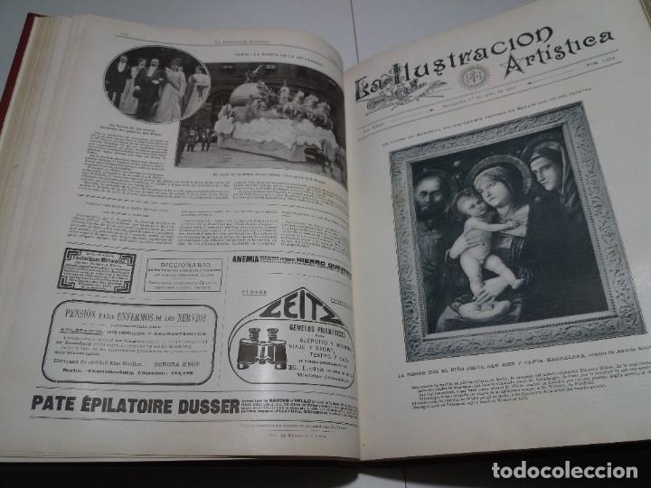 Libros antiguos: FABULOSO Y EXCEPCIONAL LIBRO ILUSTRACION ARTISTICA 110 AÑOS MONUMENTAL 40 cm - Foto 93 - 240999385