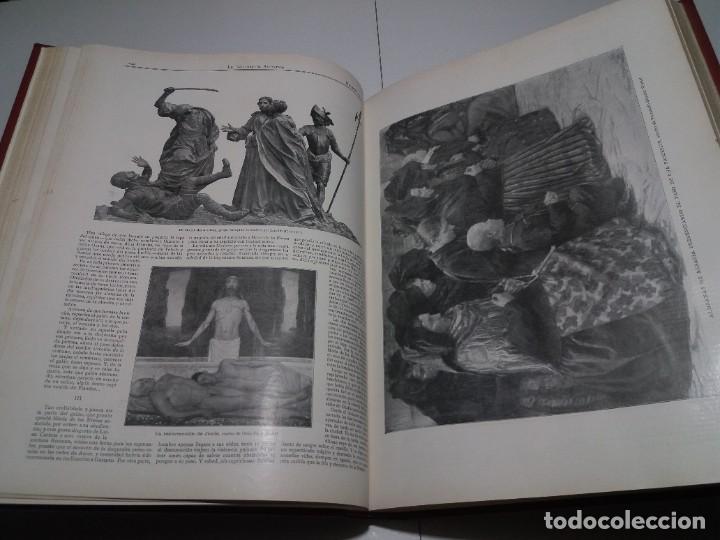 Libros antiguos: FABULOSO Y EXCEPCIONAL LIBRO ILUSTRACION ARTISTICA 110 AÑOS MONUMENTAL 40 cm - Foto 94 - 240999385
