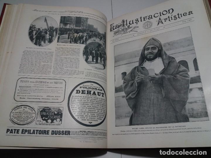 Libros antiguos: FABULOSO Y EXCEPCIONAL LIBRO ILUSTRACION ARTISTICA 110 AÑOS MONUMENTAL 40 cm - Foto 98 - 240999385