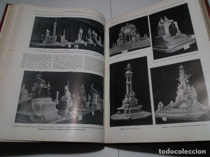 Libros antiguos: FABULOSO Y EXCEPCIONAL LIBRO ILUSTRACION ARTISTICA 110 AÑOS MONUMENTAL 40 cm - Foto 100 - 240999385