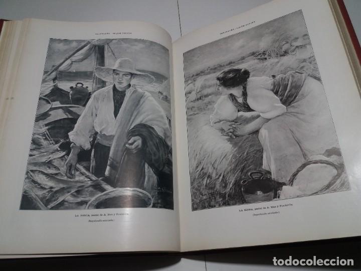 Libros antiguos: FABULOSO Y EXCEPCIONAL LIBRO ILUSTRACION ARTISTICA 110 AÑOS MONUMENTAL 40 cm - Foto 101 - 240999385