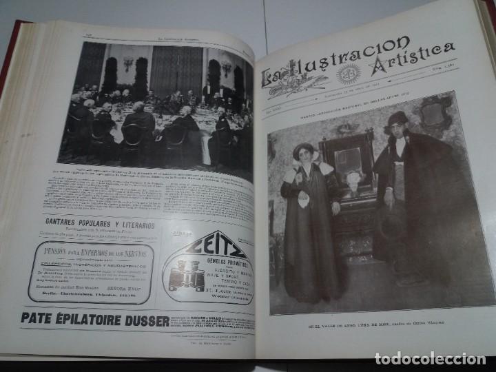 Libros antiguos: FABULOSO Y EXCEPCIONAL LIBRO ILUSTRACION ARTISTICA 110 AÑOS MONUMENTAL 40 cm - Foto 104 - 240999385