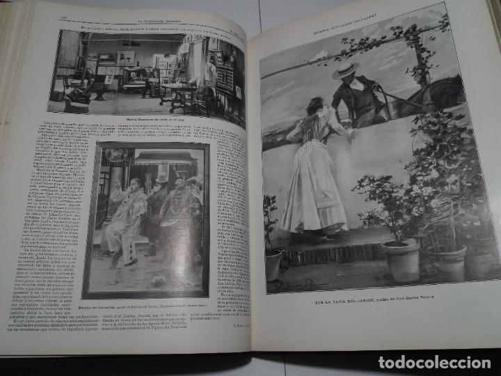 Libros antiguos: FABULOSO Y EXCEPCIONAL LIBRO ILUSTRACION ARTISTICA 110 AÑOS MONUMENTAL 40 cm - Foto 105 - 240999385
