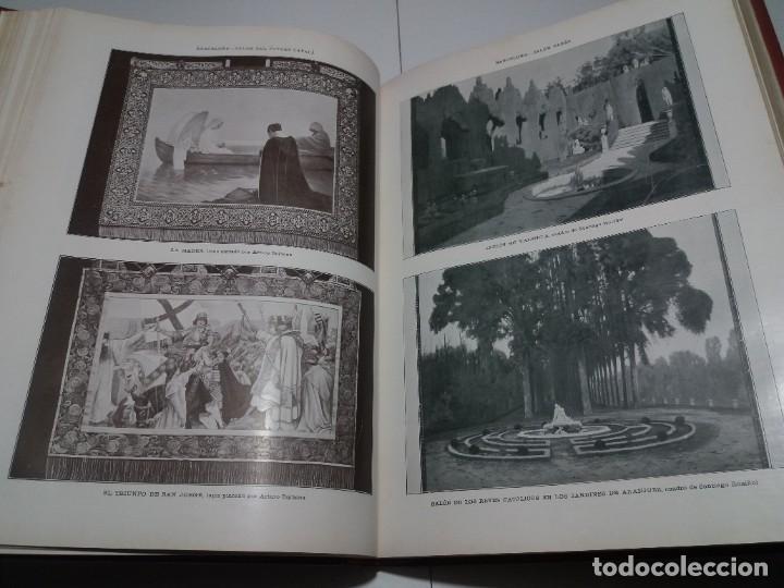 Libros antiguos: FABULOSO Y EXCEPCIONAL LIBRO ILUSTRACION ARTISTICA 110 AÑOS MONUMENTAL 40 cm - Foto 107 - 240999385