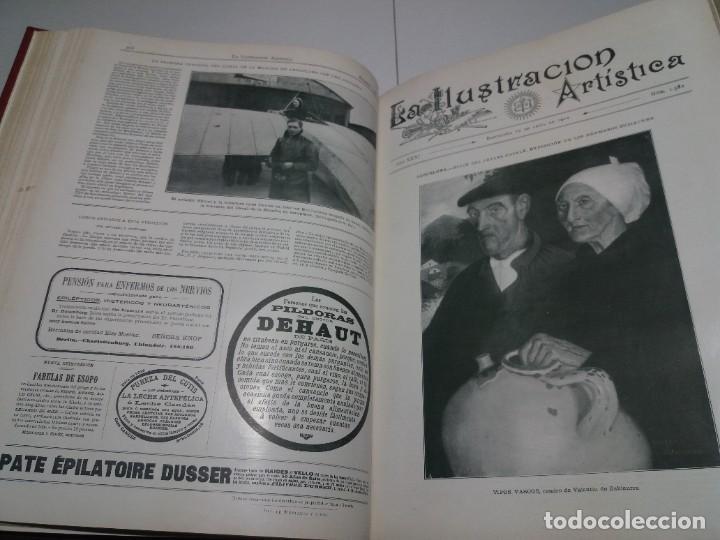 Libros antiguos: FABULOSO Y EXCEPCIONAL LIBRO ILUSTRACION ARTISTICA 110 AÑOS MONUMENTAL 40 cm - Foto 110 - 240999385