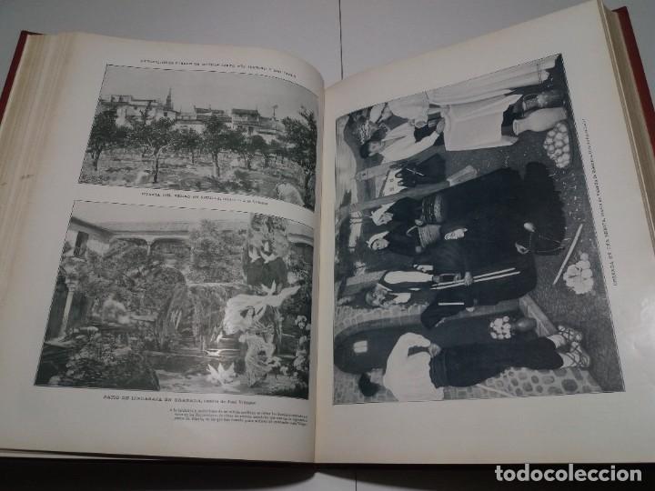 Libros antiguos: FABULOSO Y EXCEPCIONAL LIBRO ILUSTRACION ARTISTICA 110 AÑOS MONUMENTAL 40 cm - Foto 113 - 240999385
