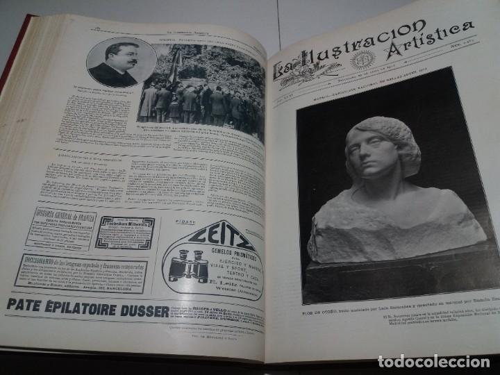 Libros antiguos: FABULOSO Y EXCEPCIONAL LIBRO ILUSTRACION ARTISTICA 110 AÑOS MONUMENTAL 40 cm - Foto 117 - 240999385