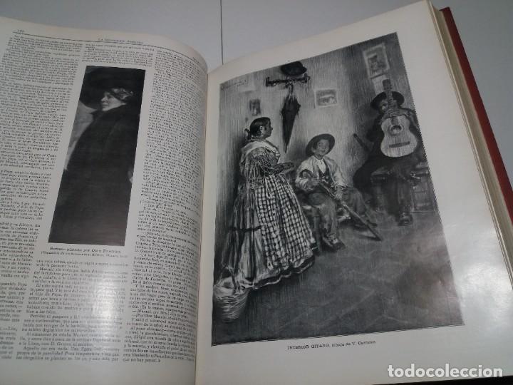 Libros antiguos: FABULOSO Y EXCEPCIONAL LIBRO ILUSTRACION ARTISTICA 110 AÑOS MONUMENTAL 40 cm - Foto 118 - 240999385