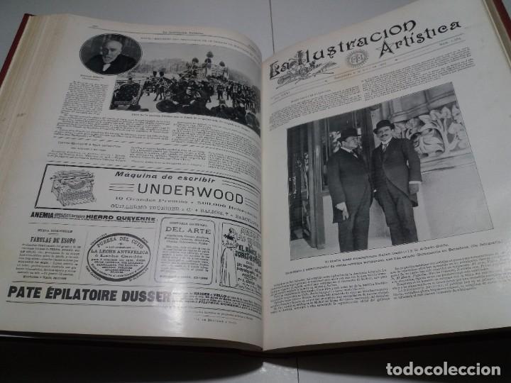 Libros antiguos: FABULOSO Y EXCEPCIONAL LIBRO ILUSTRACION ARTISTICA 110 AÑOS MONUMENTAL 40 cm - Foto 124 - 240999385