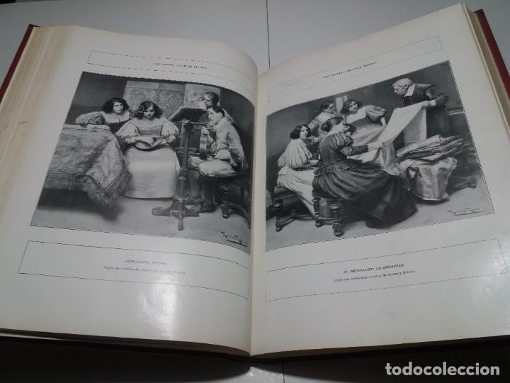 Libros antiguos: FABULOSO Y EXCEPCIONAL LIBRO ILUSTRACION ARTISTICA 110 AÑOS MONUMENTAL 40 cm - Foto 127 - 240999385