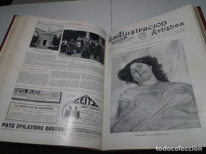 Libros antiguos: FABULOSO Y EXCEPCIONAL LIBRO ILUSTRACION ARTISTICA 110 AÑOS MONUMENTAL 40 cm - Foto 130 - 240999385