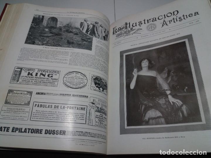 Libros antiguos: FABULOSO Y EXCEPCIONAL LIBRO ILUSTRACION ARTISTICA 110 AÑOS MONUMENTAL 40 cm - Foto 136 - 240999385