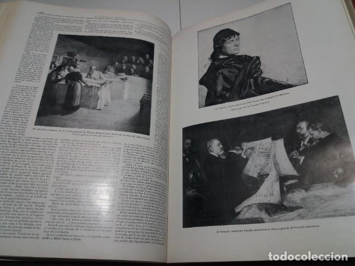Libros antiguos: FABULOSO Y EXCEPCIONAL LIBRO ILUSTRACION ARTISTICA 110 AÑOS MONUMENTAL 40 cm - Foto 137 - 240999385