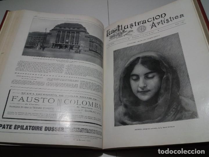 Libros antiguos: FABULOSO Y EXCEPCIONAL LIBRO ILUSTRACION ARTISTICA 110 AÑOS MONUMENTAL 40 cm - Foto 143 - 240999385