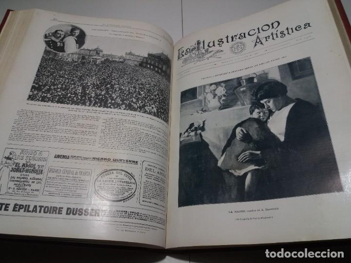 Libros antiguos: FABULOSO Y EXCEPCIONAL LIBRO ILUSTRACION ARTISTICA 110 AÑOS MONUMENTAL 40 cm - Foto 149 - 240999385