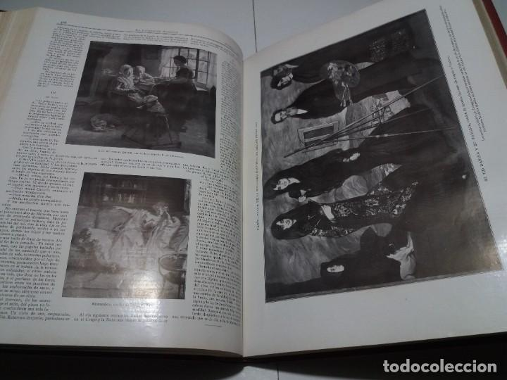 Libros antiguos: FABULOSO Y EXCEPCIONAL LIBRO ILUSTRACION ARTISTICA 110 AÑOS MONUMENTAL 40 cm - Foto 150 - 240999385