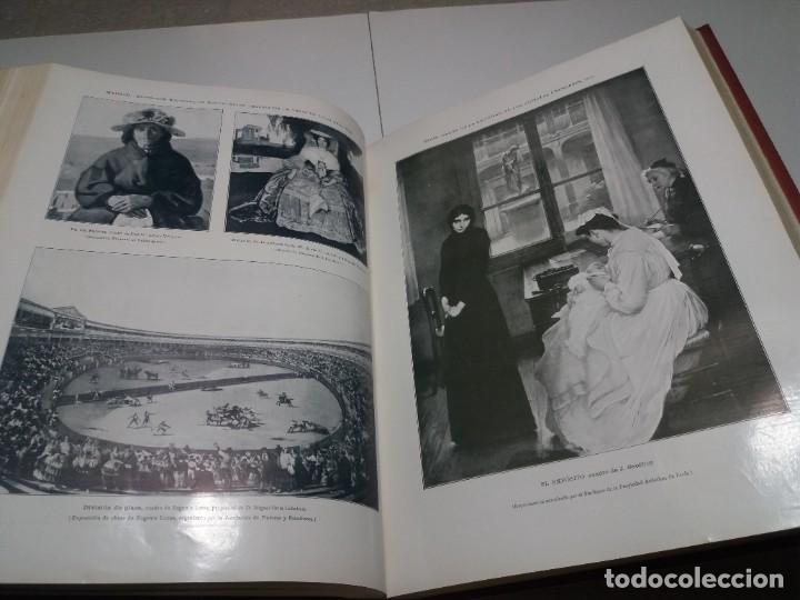 Libros antiguos: FABULOSO Y EXCEPCIONAL LIBRO ILUSTRACION ARTISTICA 110 AÑOS MONUMENTAL 40 cm - Foto 152 - 240999385