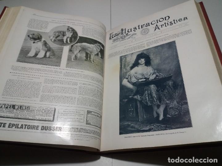 Libros antiguos: FABULOSO Y EXCEPCIONAL LIBRO ILUSTRACION ARTISTICA 110 AÑOS MONUMENTAL 40 cm - Foto 155 - 240999385