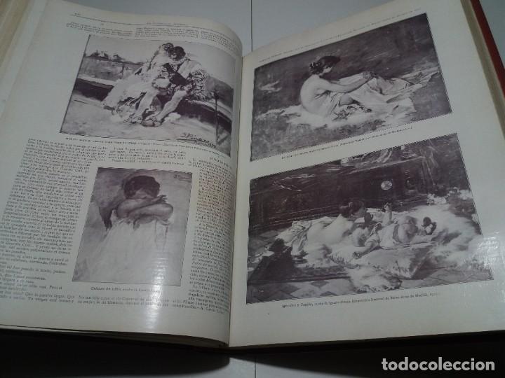 Libros antiguos: FABULOSO Y EXCEPCIONAL LIBRO ILUSTRACION ARTISTICA 110 AÑOS MONUMENTAL 40 cm - Foto 162 - 240999385
