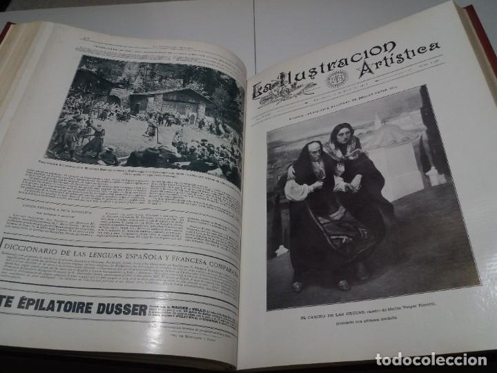 Libros antiguos: FABULOSO Y EXCEPCIONAL LIBRO ILUSTRACION ARTISTICA 110 AÑOS MONUMENTAL 40 cm - Foto 166 - 240999385