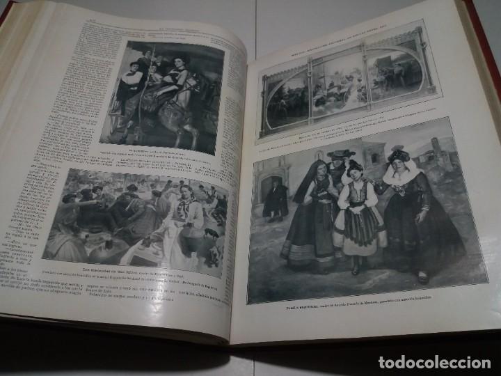Libros antiguos: FABULOSO Y EXCEPCIONAL LIBRO ILUSTRACION ARTISTICA 110 AÑOS MONUMENTAL 40 cm - Foto 167 - 240999385