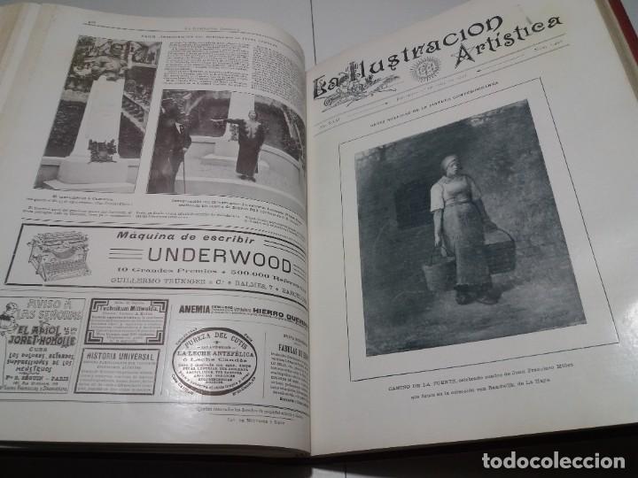 Libros antiguos: FABULOSO Y EXCEPCIONAL LIBRO ILUSTRACION ARTISTICA 110 AÑOS MONUMENTAL 40 cm - Foto 170 - 240999385