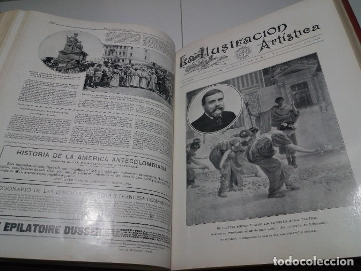 Libros antiguos: FABULOSO Y EXCEPCIONAL LIBRO ILUSTRACION ARTISTICA 110 AÑOS MONUMENTAL 40 cm - Foto 176 - 240999385